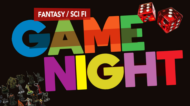 Fantasy/Sci Fi Game Night