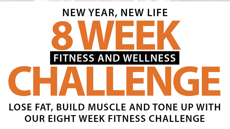 8 Week Fitness Challenge BEGINS
