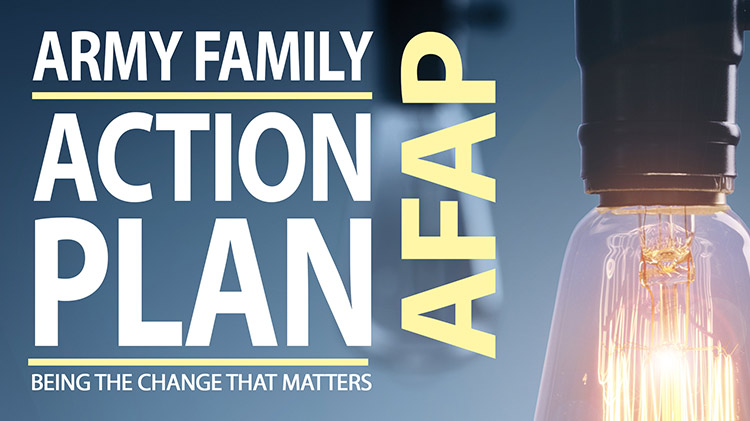Army Family Action Plan (AFAP) Rally