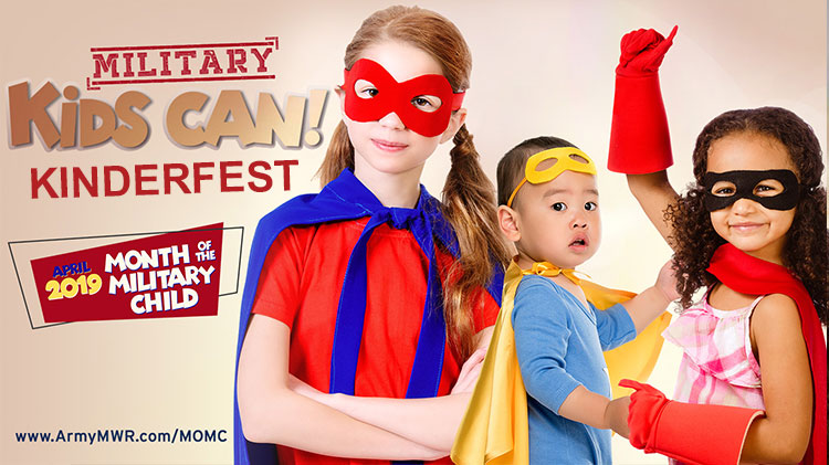 Month of the Military Child - Kinderfest