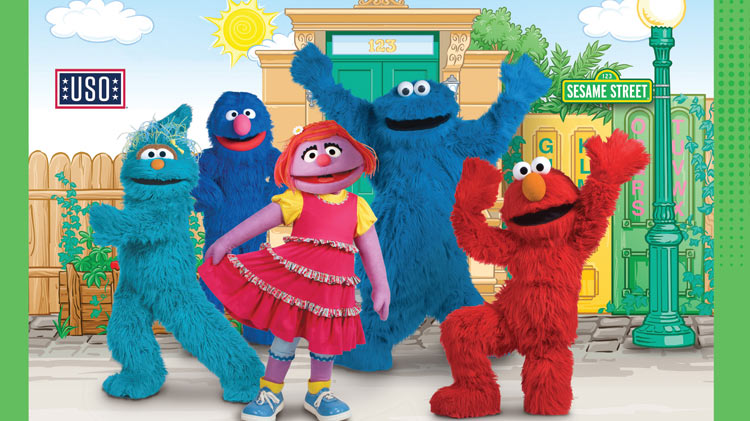 The Sesame Street/USO Experience for Military Families