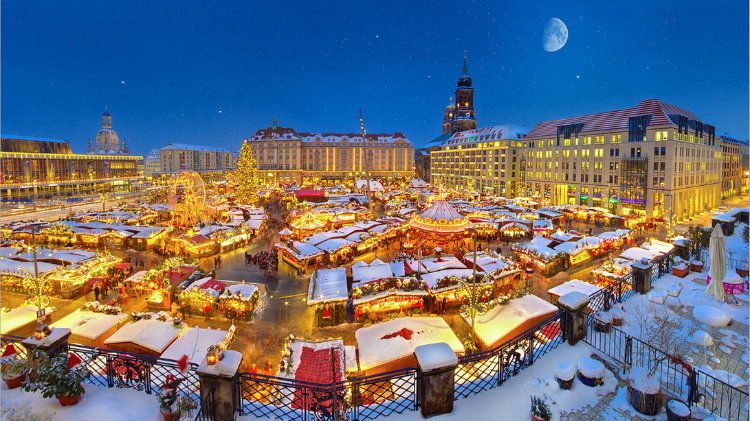 Christmas Market: Dresden