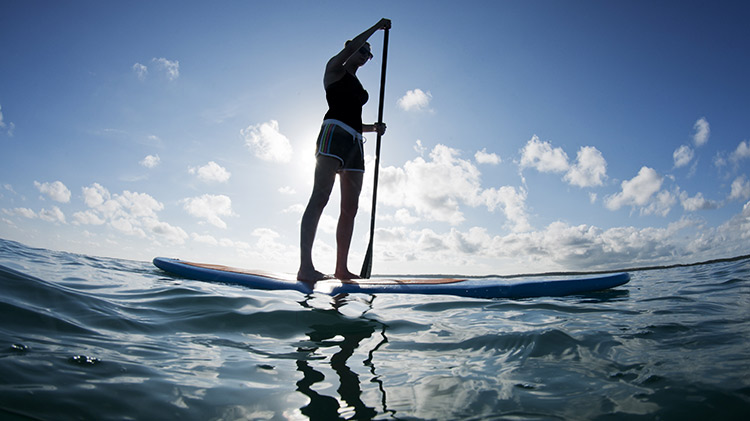Evening Standup Paddle Boarding