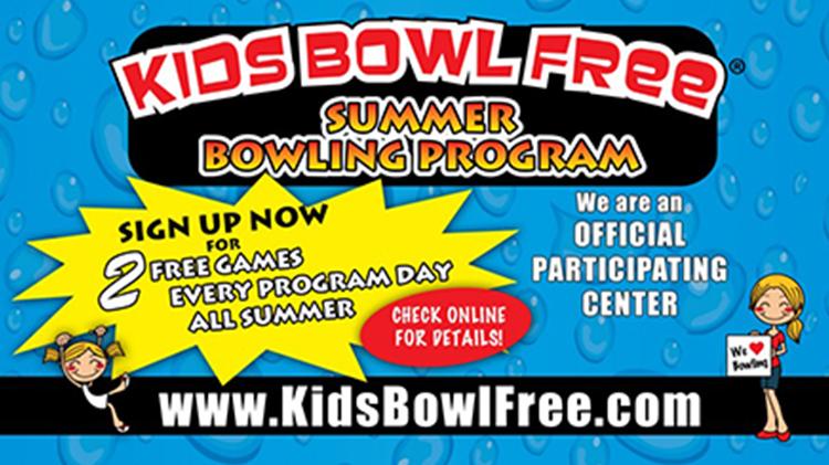 Kids Bowl Free Spring & Summer Bowling Program