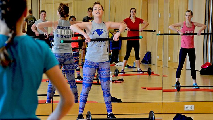 Les Mills Body Combat Training