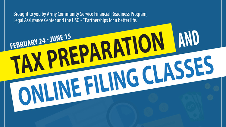Tax Preparation and Online Filing Classes