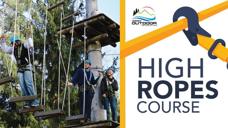 High Ropes Course & Team Garden