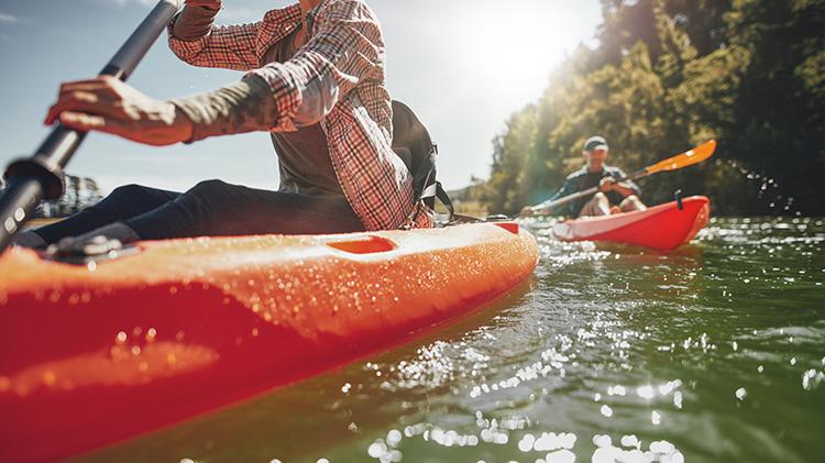 Pottenstein Whitewater Kayaking