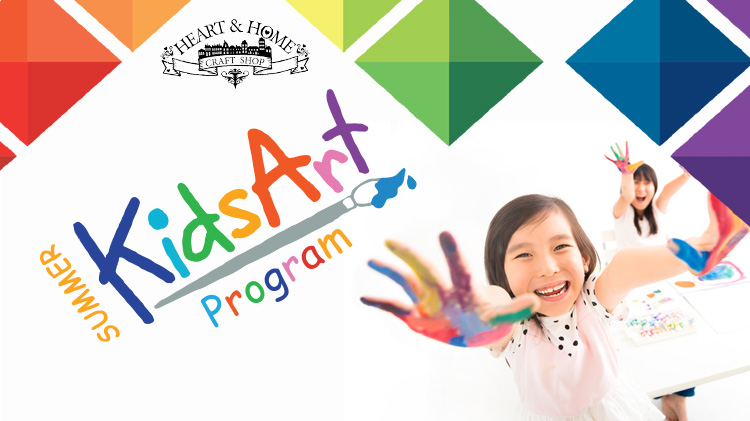 Summer Kids Art Program