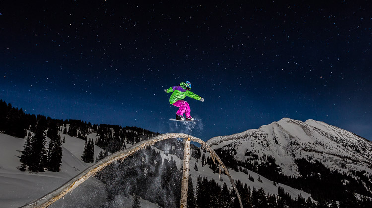 Night Ski/Snowboard Trip to Mehleissl