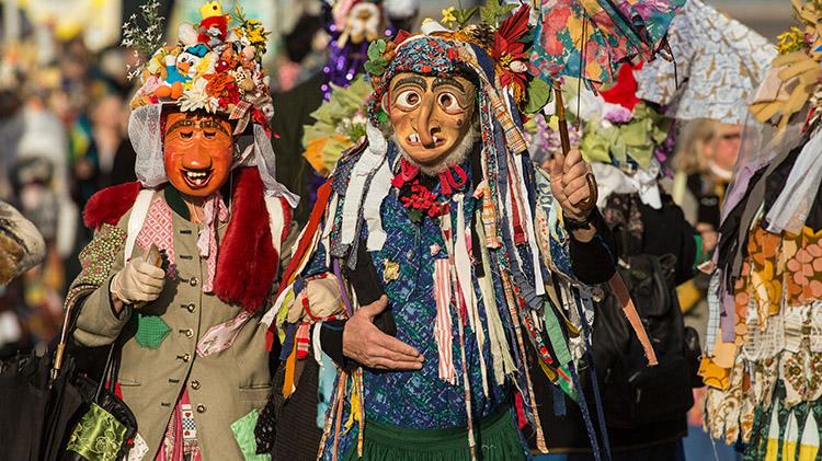 Fasching Costuming