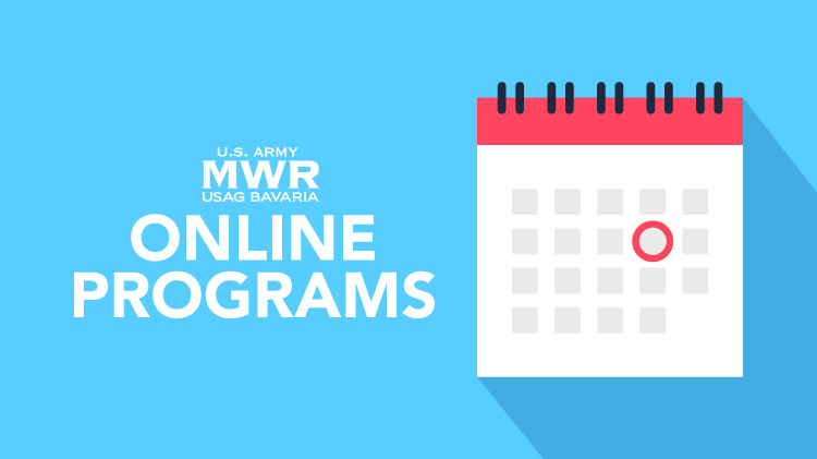 Schedule for Online MWR & Community Events