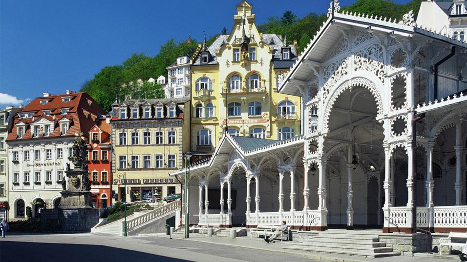 Karlovy Vary & The Asian Dragon Market, Czech Republic