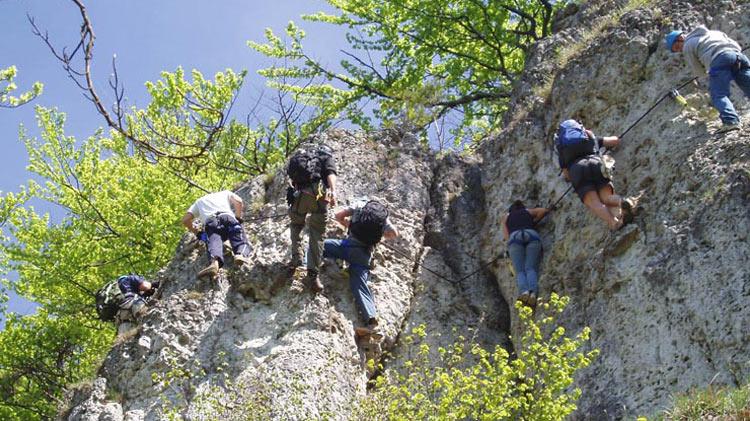 Hohenglucksteig Klettersteig