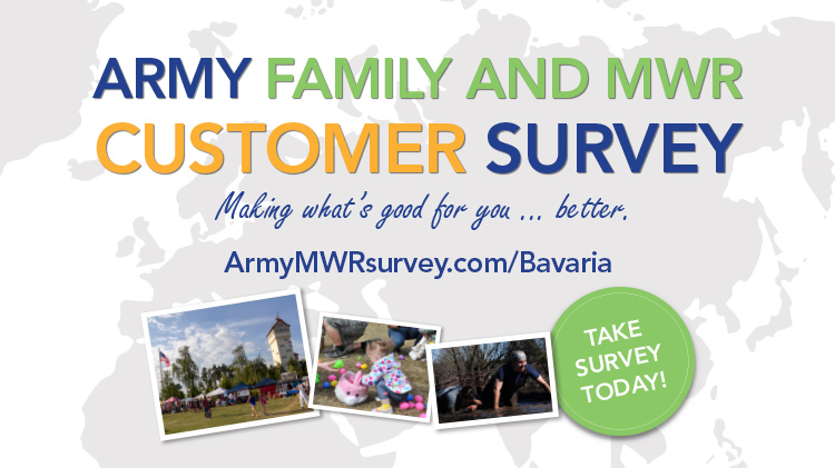 USAG Bavaria Army Family and MWR Customer Survey