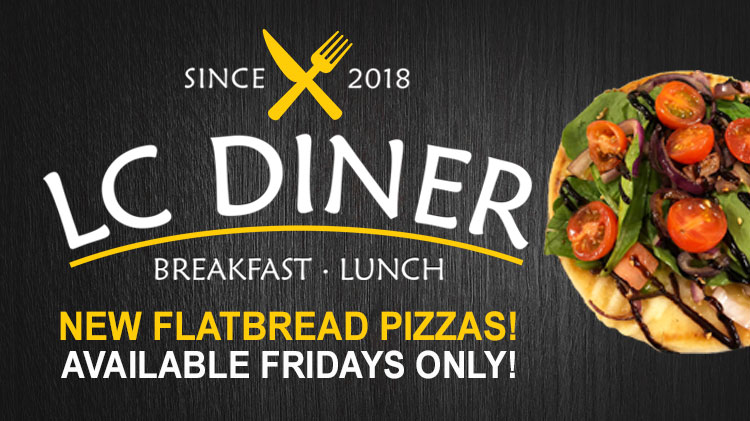 Flatbread Fridays at the LC Diner